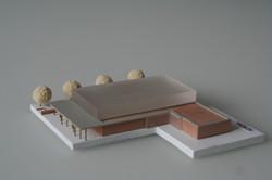 Modell Sporthalle 1