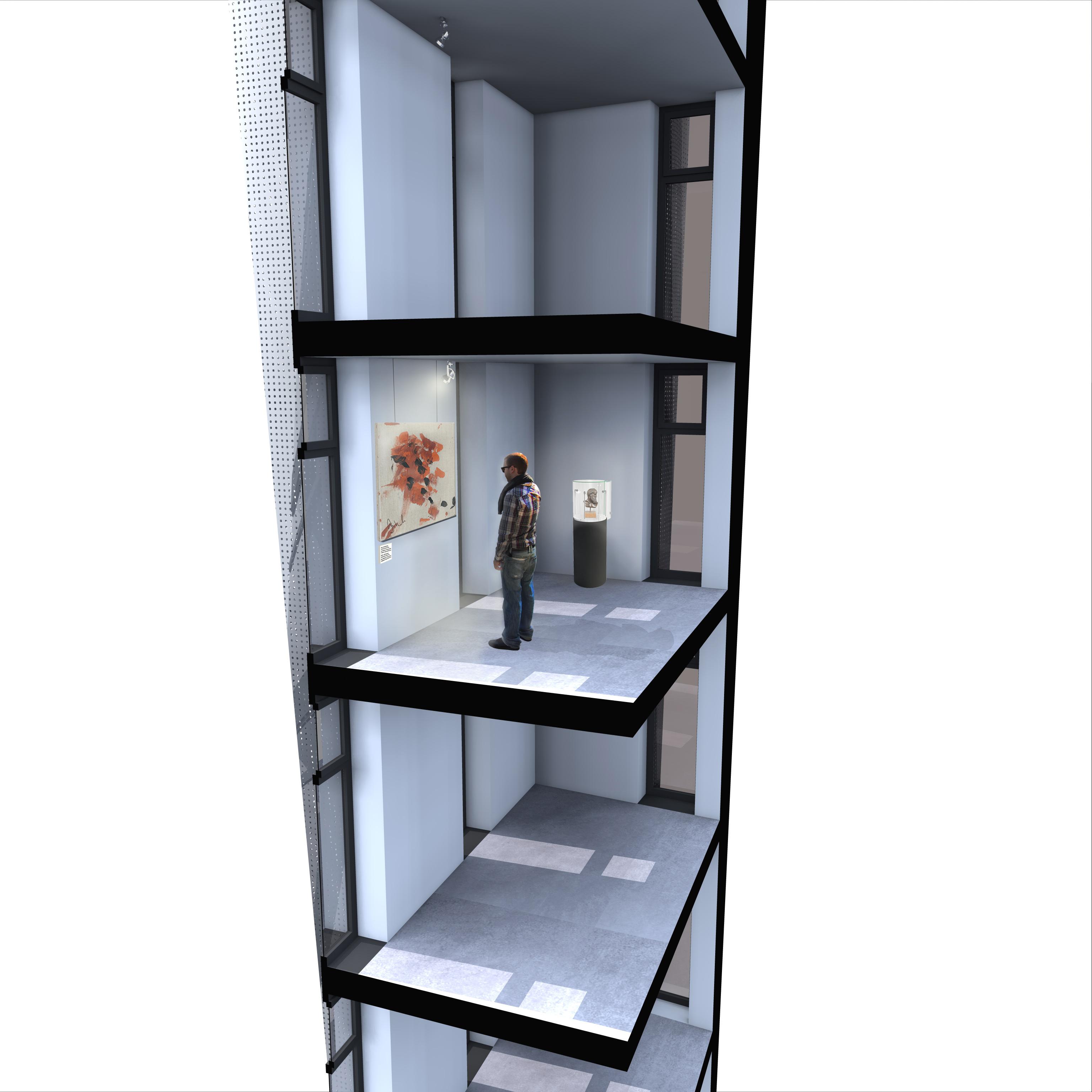 Fassadenschnitt 3D