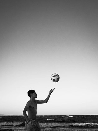 The Magic Boy and HIs Floating Ball