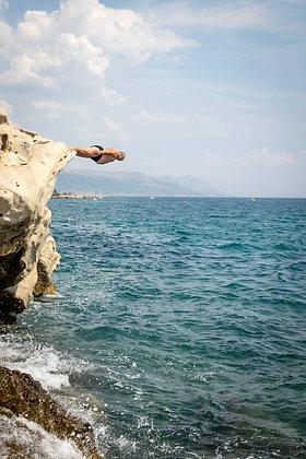 The head diver