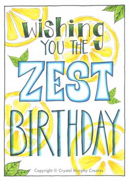 Zest Birthday (2020)