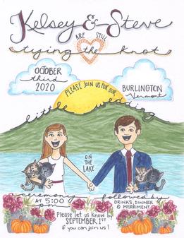 Little Wedding Invite (2020)