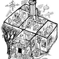 Die Villa Kunterbunt