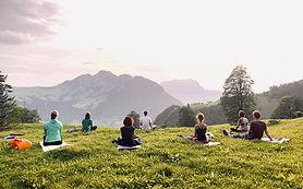 Yoga und Meditation in der Natur