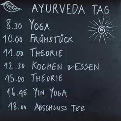 Tagesprogramm