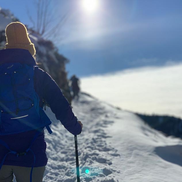 Schneeschuhtouren & Yoga