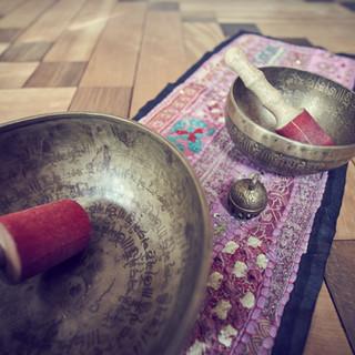 Klangschalen aus Nordindien