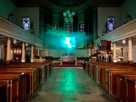 The Ocelli in 'The Wilderness' exhibition, St Pancras New Church, The Haven +