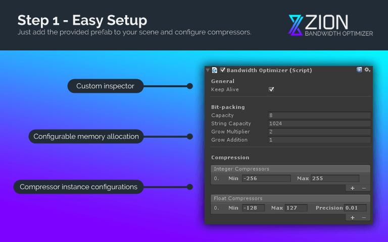 Step 1 - Easy Setup