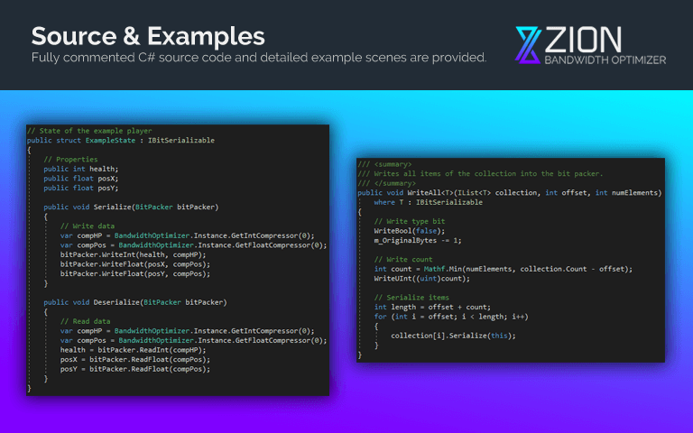 Source & Examples