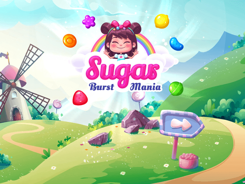 Windows 7 Sugar Burst Mania - Match 3: Candy Blast Adventure 1.1 full