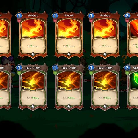 Hundreds of unique cards