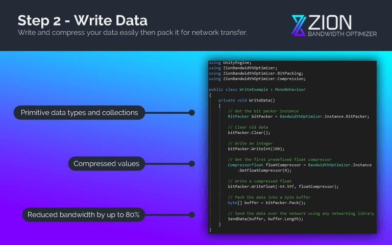 Step 2 - Write Data