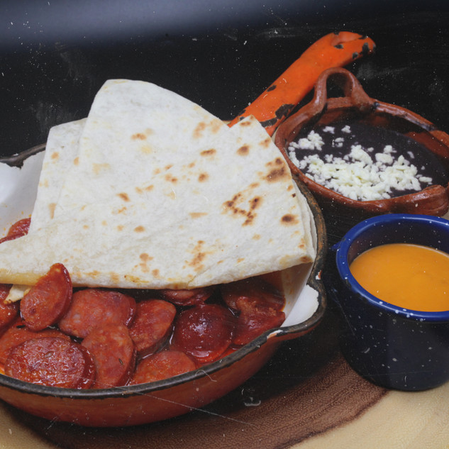 Botana de Chorizo 15.50