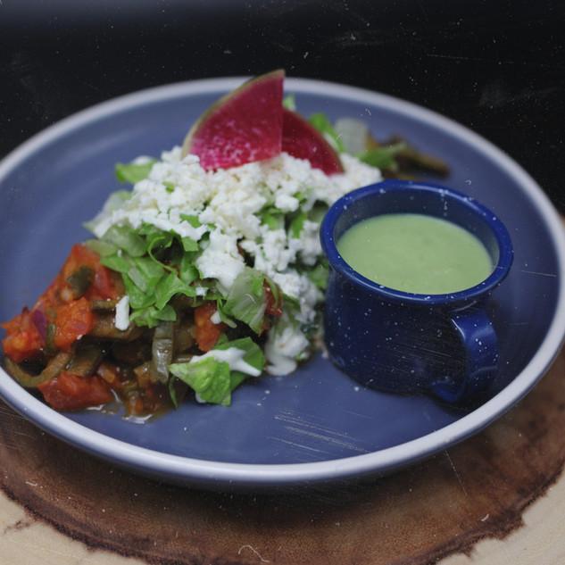 Nopales a la Mexicana (vegetarian) 21.95