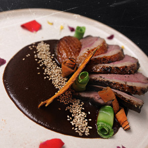 Duck with mole 28.50 (not Available)