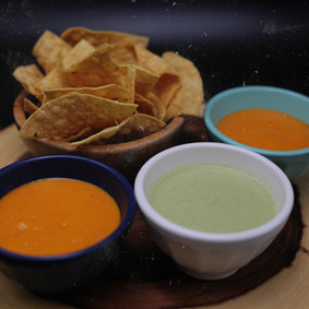 Totopos & Salsa (vegetarian)  15.50