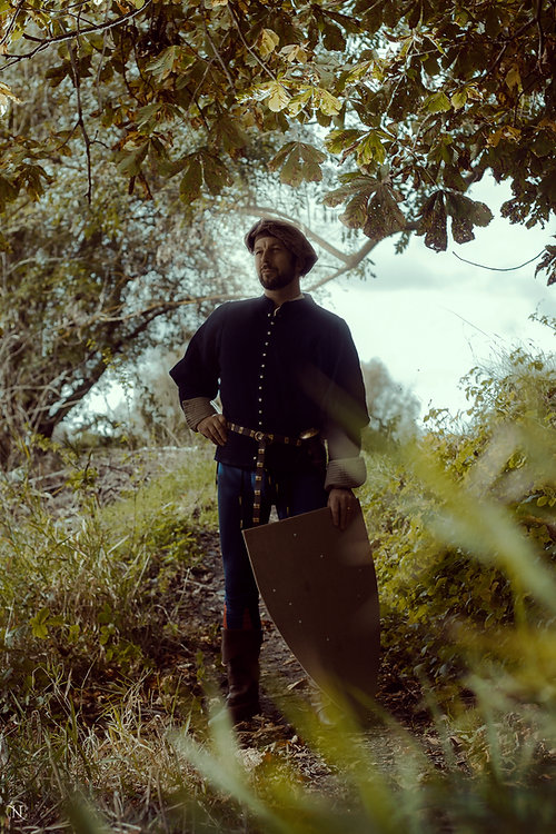 Vincent, fabriqunt des boucliers Arte-Bellum