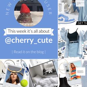 Featured user: @cherry_cute