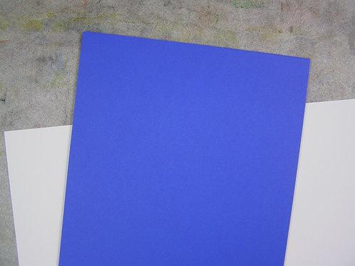 Blaues 130g-Papier