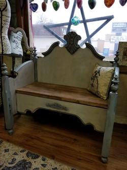 Vintage Repurposed Bench