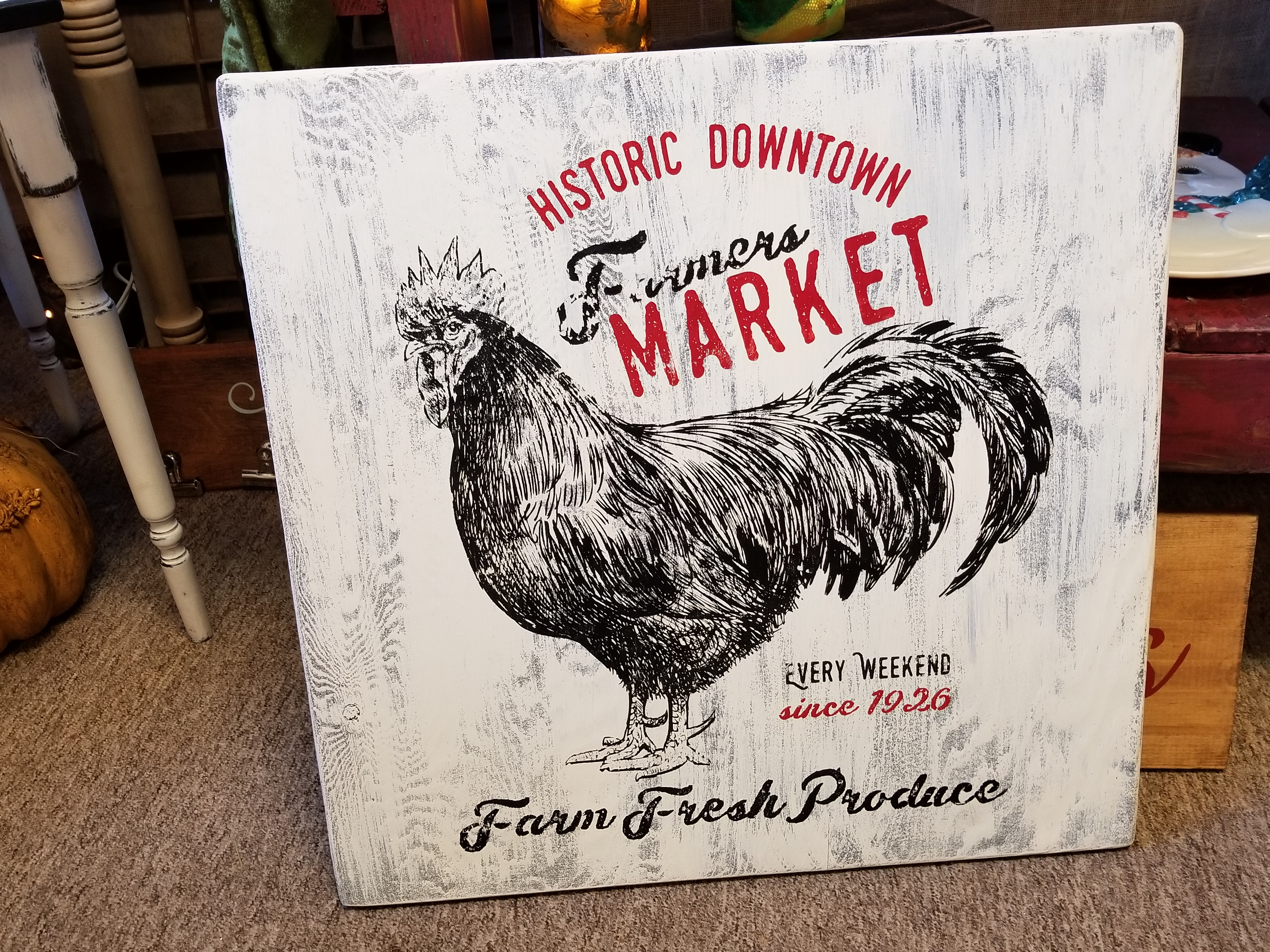 Farmers Market Rooster