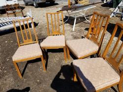 Sert of 4 chairs