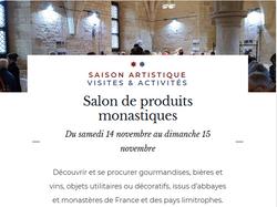 Marché monastique Abbaye de Noirlac