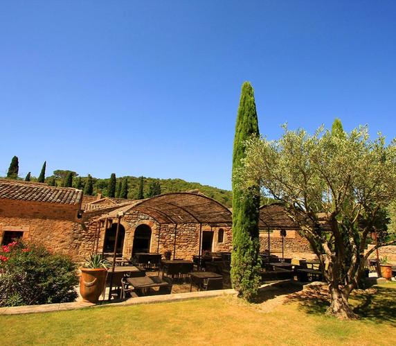 Jardin - Abbaye de Fontfroide