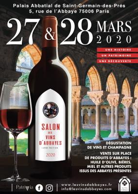 Salon des Vins d'Abbayes 27&28 mars 2020