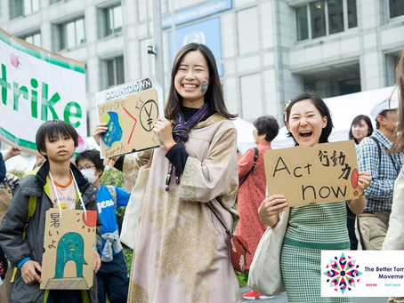 A Young Change-Maker Fighting Against Climate Change
