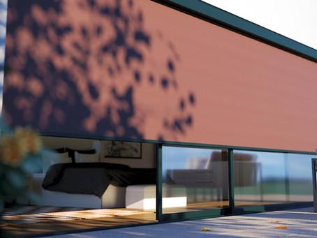 Moderner Sonnenschutz: Zipscreen