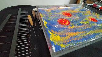 Paper Marbling Workshop Ebru Art