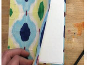 Orizome-shi Paper Dyed Notebook Cover Singapore