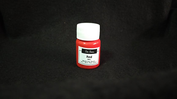 Red Marbling Paint
