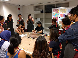 Paper Marbling Workshop Singapore