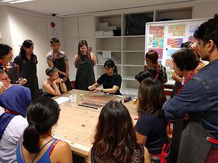Paper Marbling Workshop Singapore