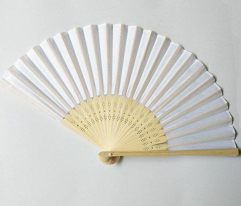 Chinese Fabric Hand Fan