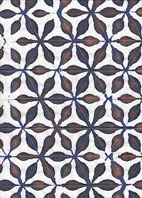 Japanese Orizome Art Paper Dyeing
