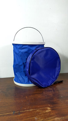 13L Blue Collapsible Bucket