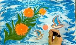 Turkish Art of Marbling Workshop
