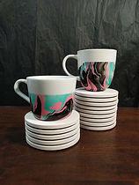 Ceramic Mugs Ikea Marbling