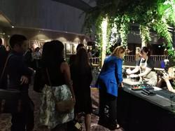Hotel Fringe Event Marbling Activity