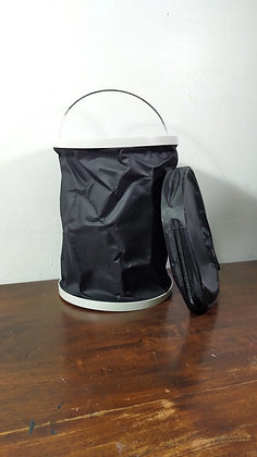 13L Black Collapsible Bucket