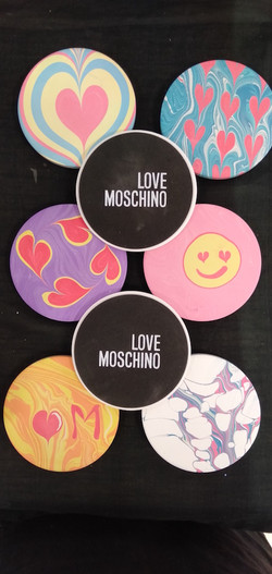 Love Moschino Ceramic Coaster