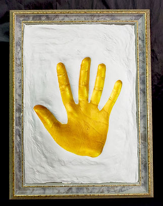 Handprint Clay Emboss Commemorative Gift