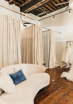 Boutique dressing rooms