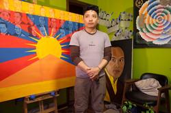 Jordan and his Paintings