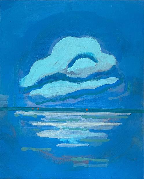 Charlotte Lethbridge, Cloud Over Bay