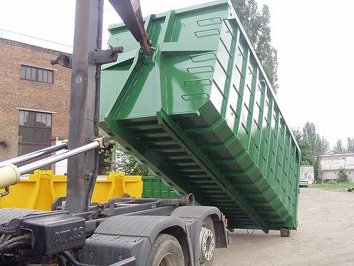 30 kub. åpen container til gips til leie i Trondheim, Orkanger, Stjørdal